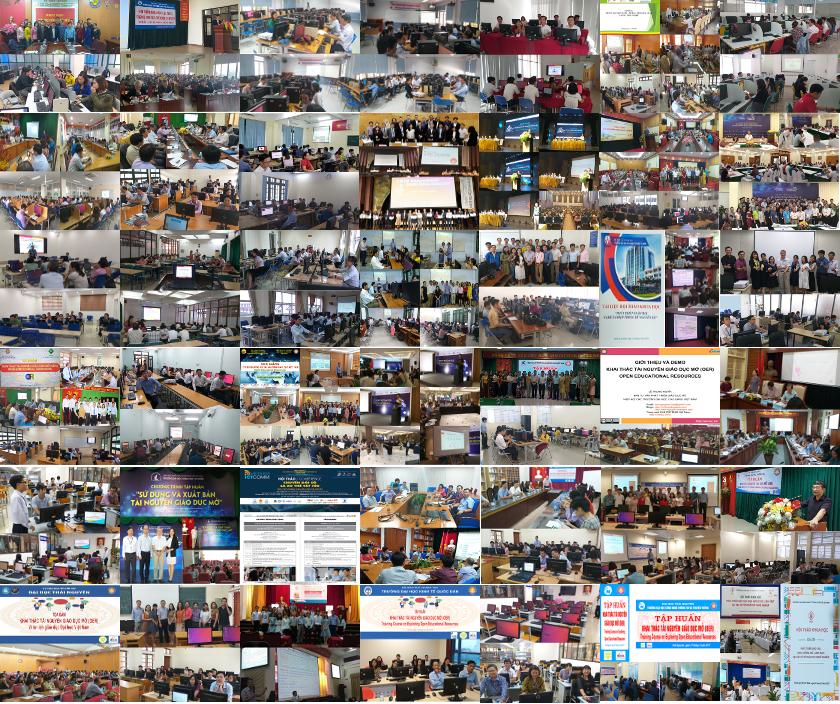 Các bài trình chiếu tại hội nghị, hội thảo và tập huấn tới hết năm 2019