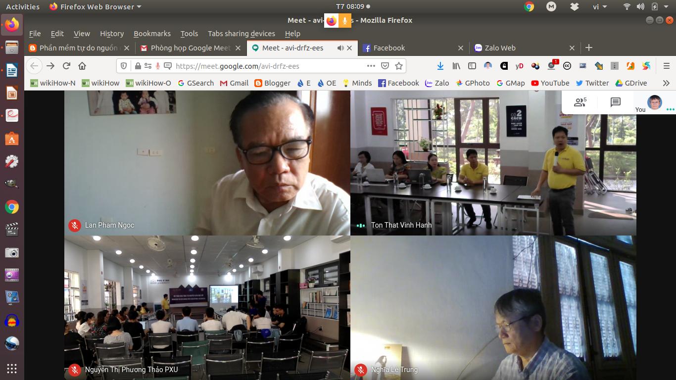 Nói chuyện về Tài nguyên Giáo dục Mở tại Đại học Phú Xuân