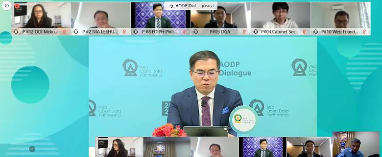 Đối thoại của Đối tác Dữ liệu Mở châu Á 2020 qua hình ảnh