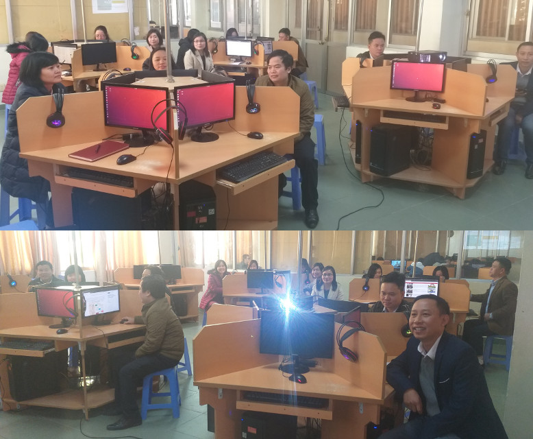 Khóa huấn luyện 'Thực hành khai thác tài nguyên giáo dục mở' ở trường Đại học Thái Bình, 05-06/12/2020